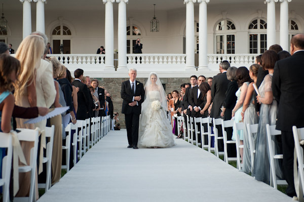 This photo released by Genevieve de Manio Photography shows former President Bill Clinton walking his daughter Chelsea down the isle for her wedding Saturday July 31, 2010 in Rhinebeck,N.Y.    <span class=meta>(&#40;AP Photo&#47;Genevieve de Manio Photography,Barbara Kinney&#41;)</span>