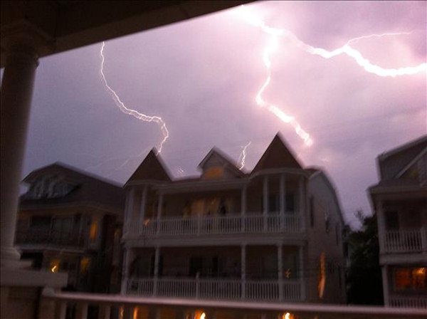 Lightning in Ocean City