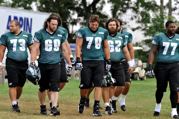 "<div class=""meta image-caption""><div class=""origin-logo origin-image ""><span></span></div><span class=""caption-text"">Philadelphia Eagles players take the field for NFL football practice, Sunday, Aug. 5, 2012, in Bethlehem, Pa. Garrett Reid, the oldest son of Eagles head coach Andy Reid, was found dead Sunday morning in his room at the club's training camp at Lehigh University. He was 29. (AP Photo/Chris Post)</span></div>"