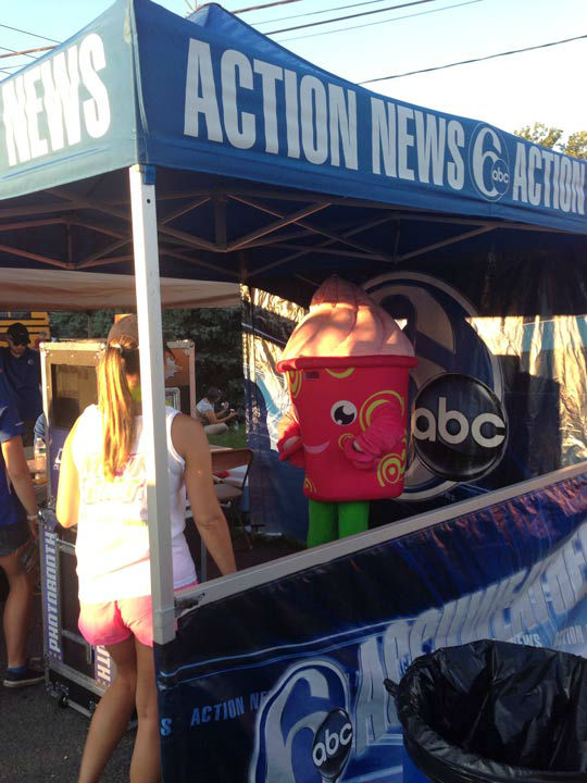Action News at Musikfest 2013.