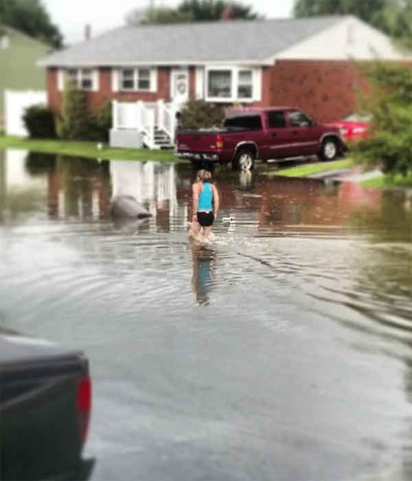 "Christina sent in this picture to @6abc, tweeting, "" Nicole Voegele. New Castle, De @6abc"""