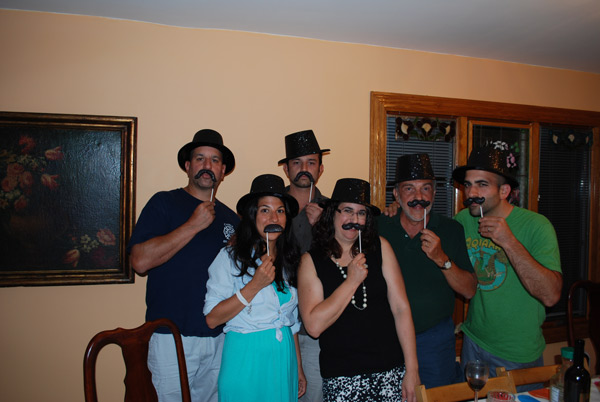 "<div class=""meta image-caption""><div class=""origin-logo origin-image ""><span></span></div><span class=""caption-text"">Alicia attends a family gathering with her in-laws in State Island, New York. Whoever thought it was a boy was wearing a top hat and mustache, while Team Girl was wearing a crown with a ring pop!</span></div>"