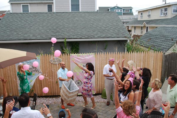 "<div class=""meta ""><span class=""caption-text "">Alicia and her best friend Dara attend a joint gender reveal party with friends and family in Manasquan, Monmouth County. (Dara is also having a girl!)   </span></div>"