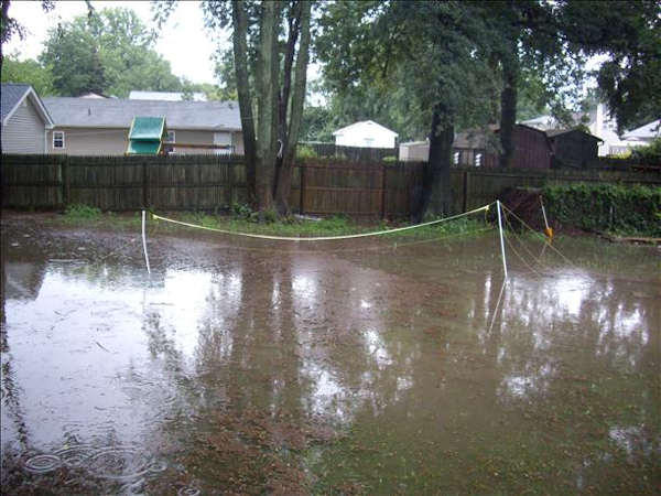 Flooding in our area