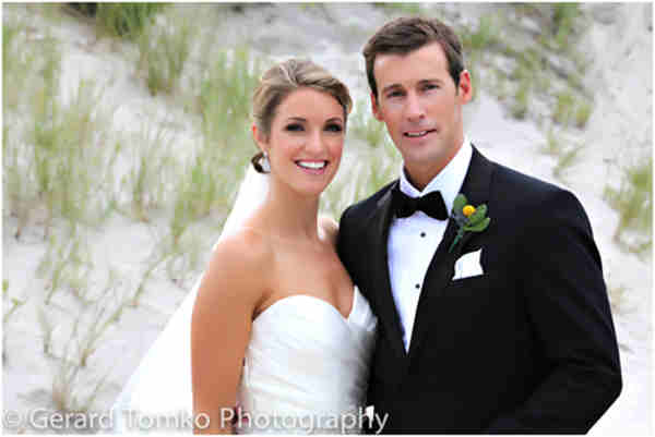 Action News 6at4 anchor Brian Taff married 6abc Creative Services executive producer Mara Webb this weekend in New Jersey. The two tied the knot at the stunning and historic Stockton Seaview Resort in Atlantic County. <span class=meta>(Gerard Tomko Photography)</span>
