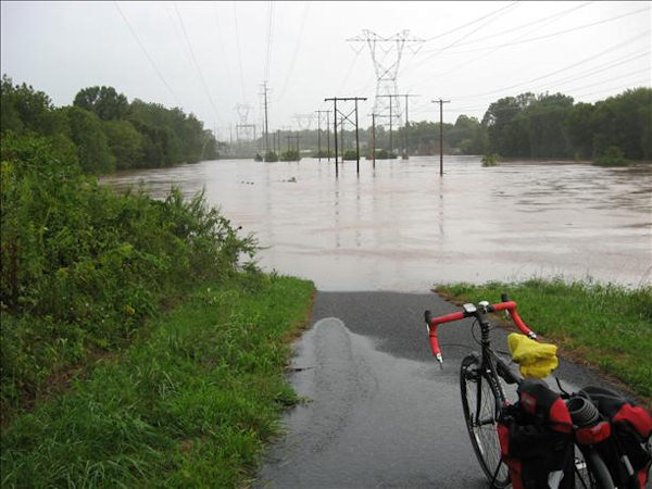 "<div class=""meta ""><span class=""caption-text "">Perkiomen Creek in Gratersford. Over its banks by 750 some feet.  Viewer photo of damage from Hurricane Irene submitted through sendit.6abc.com</span></div>"