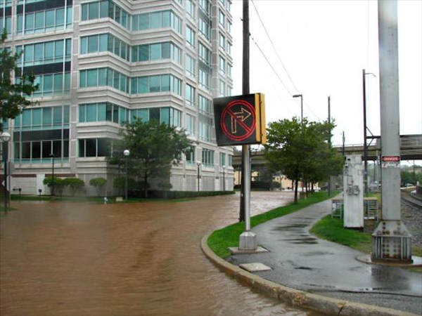 Pictures from the Schuylkill River flood around Conshohocken on Sunday.  Viewer photo of damage from Hurricane Irene submitted through sendit.6abc.com