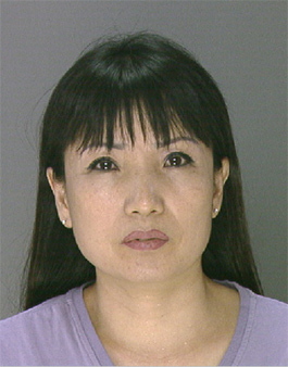 Pictured:  Aesun Baek, 45, from the 1800 Block of Ranstead Street.  She was charged with Prostitution, Solicitation, Criminal Conspiracy, and massage without a license following a raid of the 1819 Spa at 1819 Ranstead Street on Wednesday, August 28th.