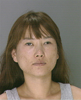 Pictured:  Yunjung Heo, 26, from the 3800 Block of Ventnor Avenue in Atlantic City, New Jersey.  She was charged with prostitution following a raid of the 1819 Spa at 1819 Ranstead Street on Wednesday, August 28th.