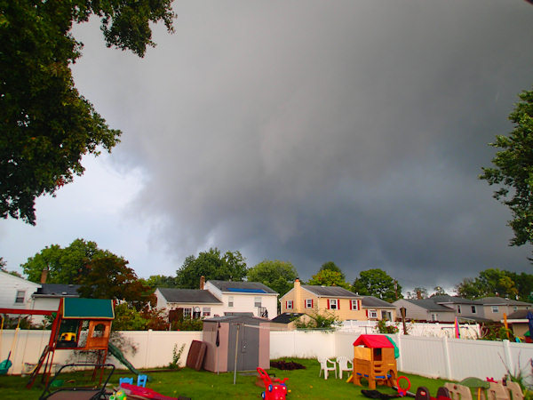 Action News viewer sent this photo from Gloucester City, NJ on September 4, 2012.