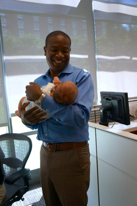 Jamie Apody brought her new baby boy Tanner into the studio to meet the Action News family.