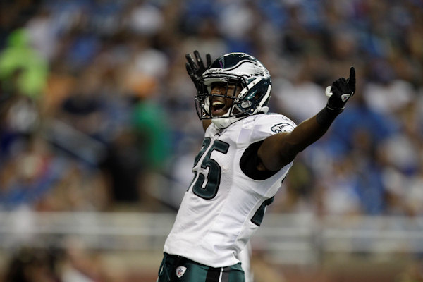 "<div class=""meta image-caption""><div class=""origin-logo origin-image ""><span></span></div><span class=""caption-text"">Philadelphia Eagles running back LeSean McCoy celebrates his 14-yard touchdown run against the Detroit Lions in the second quarter of an NFL football game in Detroit, Sunday, Sept. 19, 2010. (AP Photo/Paul Sancya)</span></div>"
