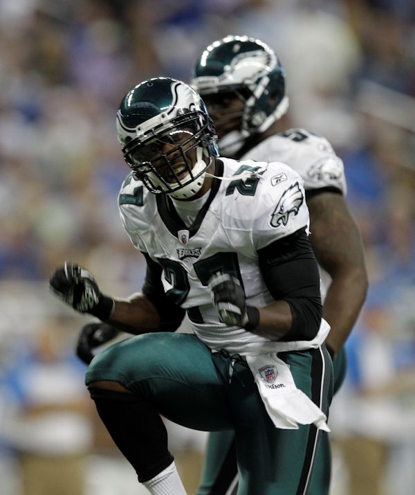 "<div class=""meta image-caption""><div class=""origin-logo origin-image ""><span></span></div><span class=""caption-text"">Philadelphia Eagles safety Quintin Mikell react against the Detroit Lions during the first half of an NFL football game in Detroit, Sunday, Sept. 19, 2010.  (AP Photo/Paul Sancya)</span></div>"