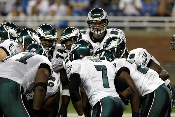 "<div class=""meta image-caption""><div class=""origin-logo origin-image ""><span></span></div><span class=""caption-text"">Philadelphia Eagles quarterback Michael Vick huddles during the first quarter of an NFL football game against the Detroit Lions at Ford Field in Detroit, Sunday, Sept. 19, 2010.    (AP Photo/Carlos Osorio)</span></div>"