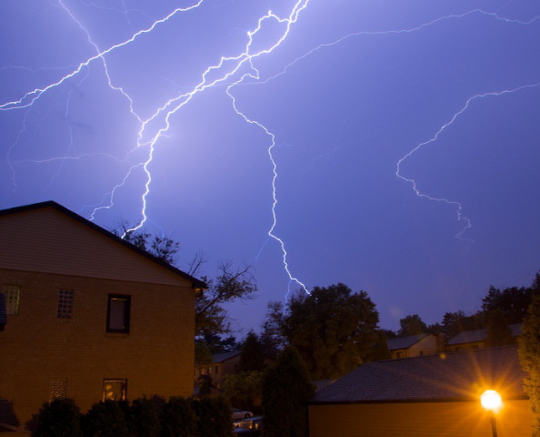 Photo of thunderstorm in Delaware on Wednesday, September 22, 2010 taken by Chuck Purnell.