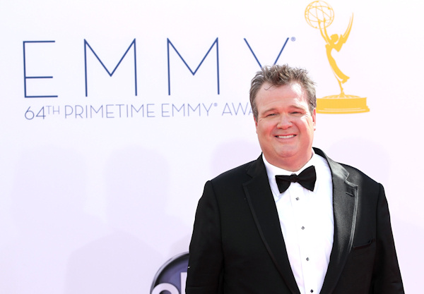 Actor Eric Stonestreet arrives at the 64th Primetime Emmy Awards at the Nokia Theatre on Sunday, Sept. 23, 2012, in Los Angeles. (Photo by Matt Sayles/Invision/AP)