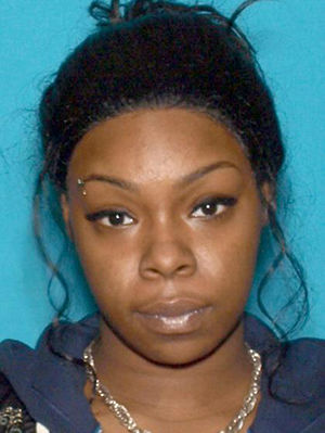 Pictured: Amber Higgins, 23, of Newark, who was indicted by the New Jersey Attorney General's office as part of an anti-violence initiative targeting trafficking and illegal possession of guns.