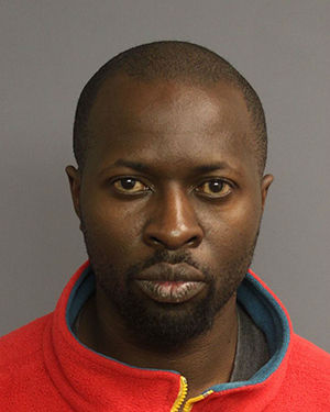 Pictured: John Muyeka, 38, of Sayreville, who was indicted by the New Jersey Attorney General's office as part of an anti-violence initiative targeting trafficking and illegal possession of guns.