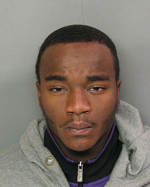 Pictured: Freddie Simmons, 20, of East Orange, who was indicted by the New Jersey Attorney General's office as part of an anti-violence initiative targeting trafficking and illegal possession of guns.