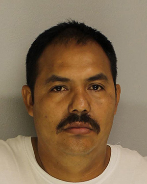 Pictured: Alder Hernandez Solorio, who is accused of being part of a drug ring based in Reading, Pa. and was arrested after a drug investigation in Montgomery County.
