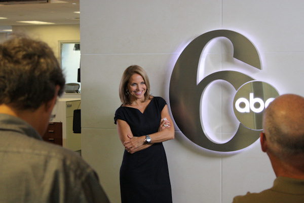 Katie visits 6abc