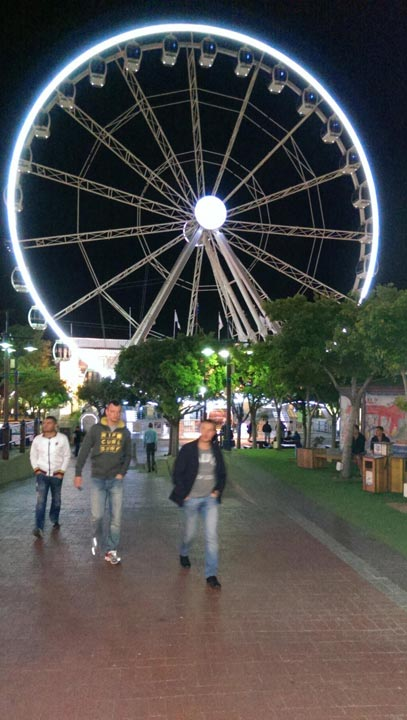 "<div class=""meta ""><span class=""caption-text "">""Cape Town at night. Peter, Paul & Mary sang a song, The Great Mandela, The Wheel of Life. This ain't it."" - @Jim_Gardner on Twitter (Jim Gardner/ @Jim_Gardner)</span></div>"