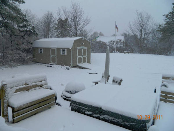 Bill Reardon Sr. - My backyard here in Albrightville, Pa  Submitted on the Action News Facebook page