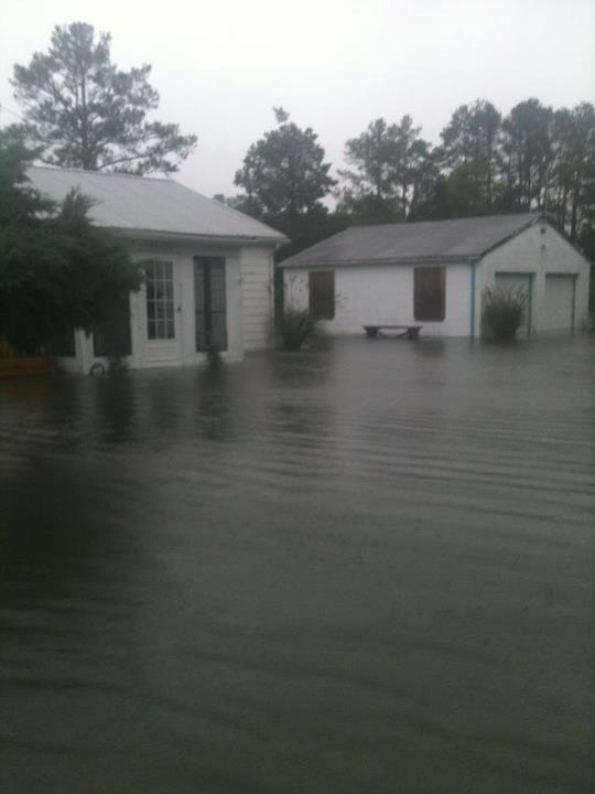 Sandy strikes in Millsboro, Delaware. Photo taken by Action News viewer.
