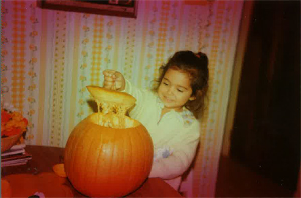 Some members of the Action News team shared their Halloween photos from when they were kids! Pictured: Alicia Vitarelli