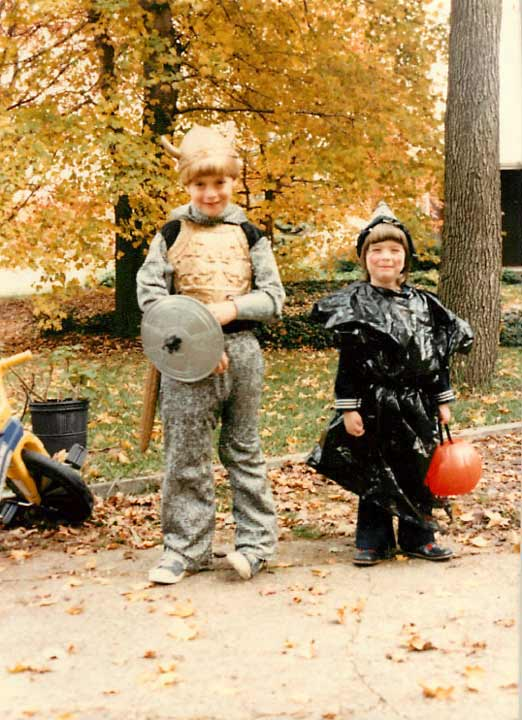 Some members of the Action News team shared their Halloween photos from when they were kids! Pictured: Annie McCormick