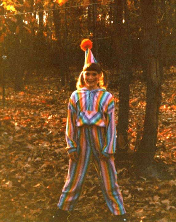 Some members of the Action News team shared their Halloween photos from when they were kids! Pictured: Karen Rogers