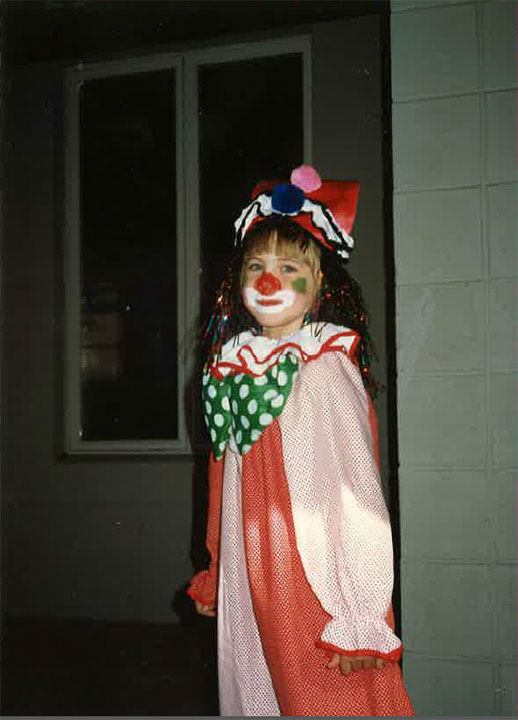 Some members of the Action News team shared their Halloween photos from when they were kids! Pictured: Katherine Scott