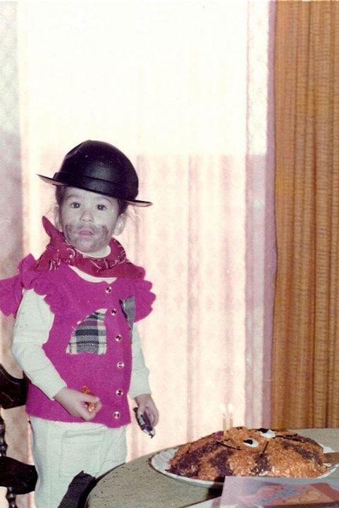 Some members of the Action News team shared their Halloween photos from when they were kids! Pictured: Wendy Saltzman