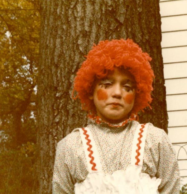Some members of the Action News team shared their Halloween photos from when they were kids! Pictured: Sarah Bloomquist