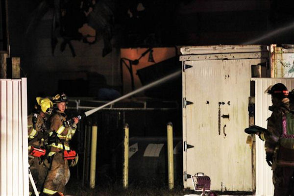 Fire at Animal Kingdom Zoo in Bordentown, N.J.