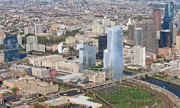 "<div class=""meta image-caption""><div class=""origin-logo origin-image ""><span></span></div><span class=""caption-text"">Another major tenant announced it will move into the Cira Centre in University City. Chemical company FMC Corporation has reached a deal to relocate its headquarters to Cira Centre South. Crews will break ground on the 47-story building next to 30th Street Station by the middle of 2014. In addition to offices, Cira Centre South will also feature retail space and apartment suites. Images courtesy FMC Corporation.</span></div>"