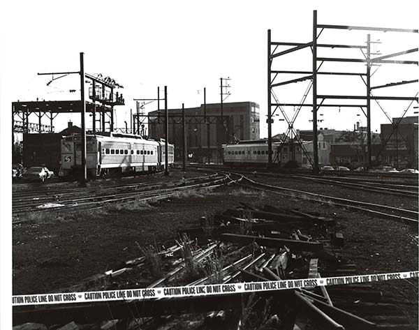 "<div class=""meta ""><span class=""caption-text "">Lansdale, Pa.: Original crime scene photo from Julie Barnyock murder, December 1993. Barnyock, 18, disappeared on November 8, 1993.  Her body was discovered a month later near the Lansdale train station.</span></div>"