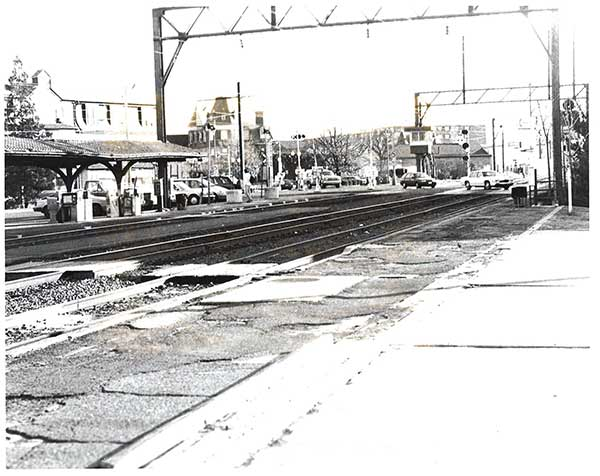 Lansdale, Pa.: Original crime scene photo from Julie Barnyock murder, December 1993. Barnyock, 18, disappeared on November 8, 1993.  Her body was discovered a month later near the Lansdale train station.