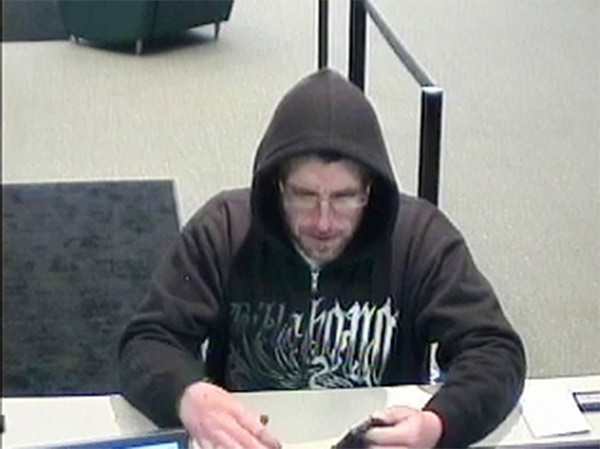 "<div class=""meta image-caption""><div class=""origin-logo origin-image ""><span></span></div><span class=""caption-text""> Local and federal authorities are asking for the public's help in their search for a man suspected of robbing two banks in Philadelphia's Mayfair section. The subject is described as a white male in his mid-30s, approximately 5'8"" tall, thin to medium build, with facial hair. During the Citizens Bank robbery he wore a black and white Billabong hooded sweatshirt, dark colored pants, sneakers, and eyeglasses. For the robbery at the Republic Bank, he was wearing a gray hooded sweatshirt with the words ""Lynchburg Lacrosse"" in red text on the chest.  If you know who this man is or where he may be you are urged to contact authorities. To submit a tip via telephone, dial 215-686-8477 or text a tip to PPD TIP or 773847. You can also contact the FBI/PPD Violent Crimes Task Force at 215-418-4000. </span></div>"