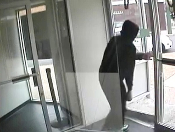 "<div class=""meta image-caption""><div class=""origin-logo origin-image ""><span></span></div><span class=""caption-text"">Local and federal authorities are asking for the public's help in their search for a man suspected of robbing two banks in Philadelphia's Mayfair section. The subject is described as a white male in his mid-30s, approximately 5'8"" tall, thin to medium build, with facial hair. During the Citizens Bank robbery he wore a black and white Billabong hooded sweatshirt, dark colored pants, sneakers, and eyeglasses. For the robbery at the Republic Bank, he was wearing a gray hooded sweatshirt with the words ""Lynchburg Lacrosse"" in red text on the chest.  If you know who this man is or where he may be you are urged to contact authorities. To submit a tip via telephone, dial 215-686-8477 or text a tip to PPD TIP or 773847. You can also contact the FBI/PPD Violent Crimes Task Force at 215-418-4000. </span></div>"
