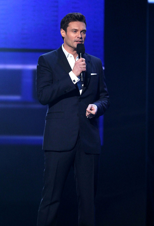 "<div class=""meta ""><span class=""caption-text "">Ryan Seacrest presents the award for favorite male artist - pop/rock at the 40th Annual American Music Awards on Sunday, Nov. 18, 2012, in Los Angeles. (Photo by Matt Sayles/Invision/AP) </span></div>"