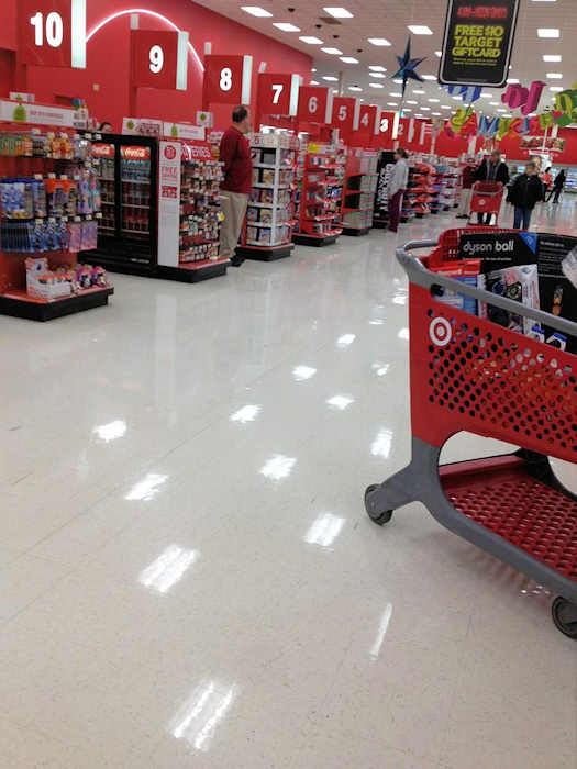 Black Friday 2012 - From @JMCopryfan2010: No lines in Target in Plymouth Meeting at 8:15 am.
