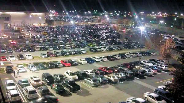Black Friday 2012 - From @StevieP382: View of the King of Prussia Mall