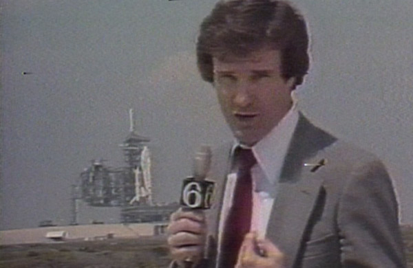 He reported on big events like when thousands of people filled Logan Square to watch Pope John Paul II and when the Shuttle Columbia launched into space.