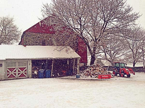 November 27, 2012: An Action News viewer sent this photo from Doylestown, PA.