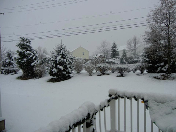 November 27, 2012: An Action News viewer sent this photo from Royersford, PA. <span class=meta>(Facebook&#47;Kathy Patton-Bender)</span>
