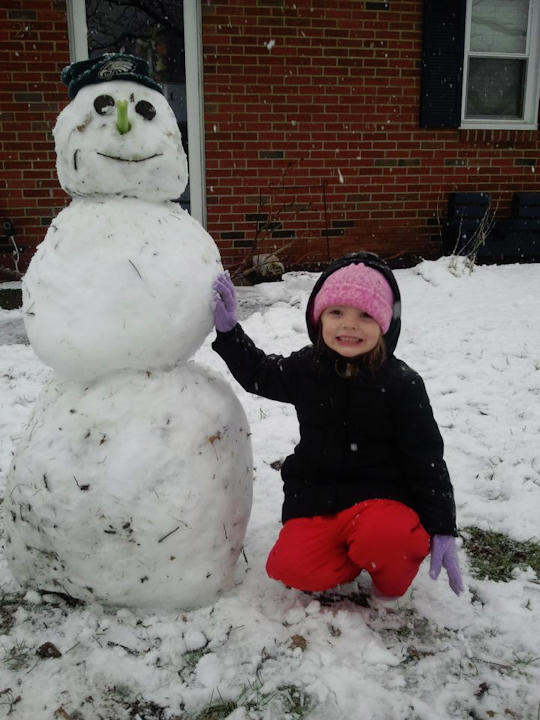 November 27, 2012: An Action News viewer sent this photo from Quakertown, PA. <span class=meta>(Facebook&#47;Jenel Toye Guise)</span>