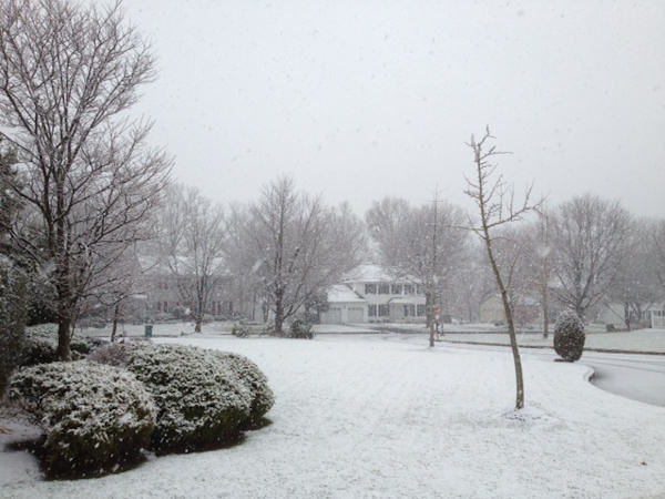 November 27, 2012: An Action News viewer sent this view from Jamison, Pa.