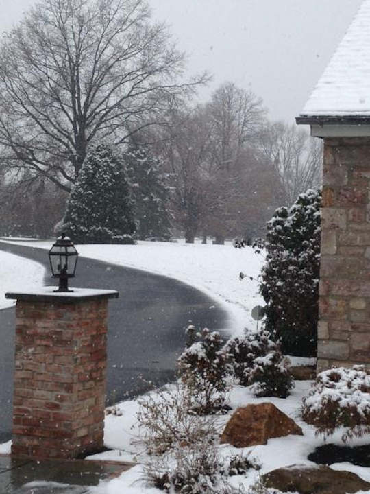 November 27, 2012: An Action News viewer sent this view from Allentown.