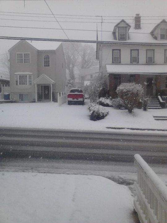 November 27, 2012: An Action News viewer sent this photo from Central Ave in Paoli,  Pa.